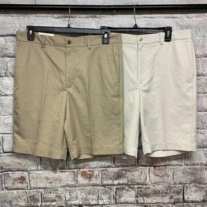 Greg Norman Men's Golf Shorts Size 34 Luxury Style